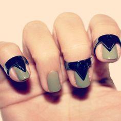 Nail Ring Nail Ring, Black Nails, Women's Accessories, Jewlery, Finger, Nail Art, Bling, Small Stuff, Beauty