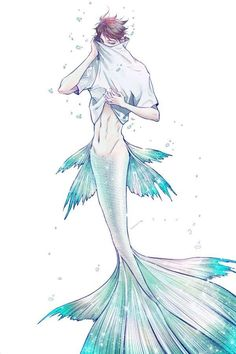 OMG Oikawa as a fucking fish xDD