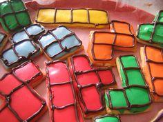 Anyone wants a Tetris cookie? I do!