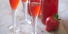 Vin de fraise