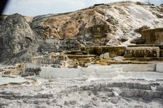 Mammoth Hot Springs, Yellowstone NP #MomentstoConserve