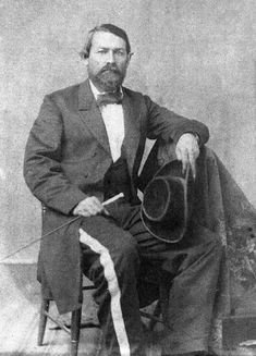 Juan Cortina - born in Camargo, Mexico (1824) his family own vast ranches on both side of border in South Texas. Recruited regiment of Mexican cavalry, fought against Zachary Taylor in battle of Palo Alto. Later became political boss for south Texas Democratic party. Shooting the Brownsville sheriff for brutalizing an employee, the violence escalated into what's known as the Cortina Wars in which he led a Mexican militia force against the US Army, Texas Rangers, and local militia of…