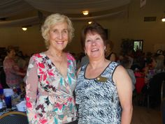 Photo courtesy of Cheryl Sanchez   Cheryl Sanchez of Redding, left, and Dawn Pedersen of Cottonwood attend the 35th annual Redding Emblem Club's Fashion Show and Luncheon on Saturday at the Redding Elks Lodge. See more Scene! photo page photos of North State people attending local public events at www.redding.com