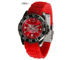 The Fantom Sport AnoChrome Arkansas State Red Wolves Watch is available in a Mens style. Showcases the Red Wolves logo. Color-coordinated linked steel band. Visit SportsFansPlus.com for Details.