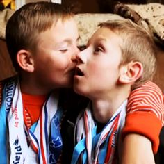 If you need a little reminder of how great #siblings are just watch this video of brothers Conner and Cayden. See how they make an impact on this NBA player.