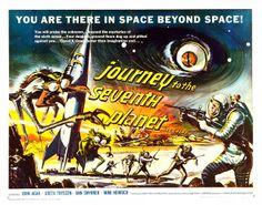 Journey to the Seventh Planet (American International, 1961) Half Sheet by Aeron Alfrey, via Flickr