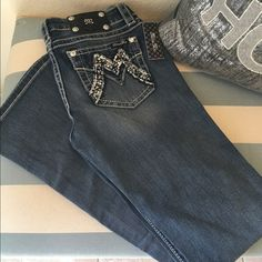 Miss Me signature boot cut NWT brand new Miss Me jeans. Never worn! Miss Me Jeans Boot Cut