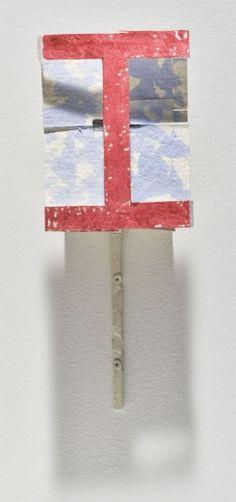 "Richard Tuttle  ""Section I, Extension G."" 2007"
