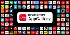 Cum a crescut HUAWEI AppGallery – Infografic Delete Pin, User Settings, Welcome Gifts, E Commerce, First They Came, Search Engine, Snapchat, Tech, Entertaining
