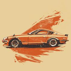 car art Cars for a Cure Apparel Datsun 280z, Datsun Car, Car Art, Art Cars, Nissan, Car Illustration, Tuner Cars, Car Posters, Car Sketch