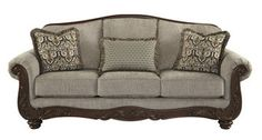 Features:  Design: -Standard.  Style: -Traditional.  Upholstery Color: -Cocoa.  Frame Material: -Manufactured wood.  Upholstery Material: -Polyester.  Country of Manufacture: -United States. Dimension