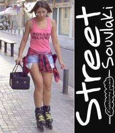 Δεν κολλάμε στην... κίνηση!!! Skater Skirt, Street, Skirts, Fashion, Moda, Fashion Styles, Skater Skirts, Skirt