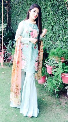 Asifa&Nabeel Pakistani Couture, Pakistani Outfits, Indian Outfits, Pakistani Bridal, Shadi Dresses, Indian Dresses, Gharara Pants, Eastern Dresses, Desi Clothes