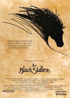 "Black Stallion (1979) Vintage One Sheet Movie Poster - 27""x 41"""
