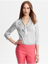 ...Banana Republic has a limited edition Mad Men Collection - This outfit works for a more casual office, don't forget a watch and blush!