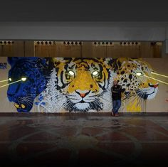 This Artist From Paris Is Covering India's Walls With Some Insane Graffiti