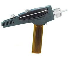 Star Trek Gold Handle Exclusive Phaser - Only £45!!