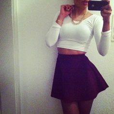 fashion outfits skirts cute --pinfashionblog