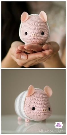 Häkeln Sie Chinese New Year Pig Amigurumi kostenlose Muster Häkeln Sie Chinese New Year Pig Amigurumi kostenlose Muster Crochet Chinese New Year Pig Amigurumi Free Pattern Source by threadsbyjinx Crochet Diy, Crochet Amigurumi Free Patterns, Crochet Animal Patterns, Stuffed Animal Patterns, Crochet Animals, Crochet Crafts, Crochet Dolls, Crochet Projects, Crochet Animal Amigurumi