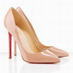 Christian Louboutin Pigalle Patent Pink Pumps - these are the Sistine Chapel of shoes.