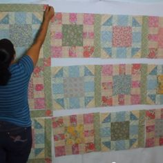 Victorian Modern Quilt Along- Part 4 (Sashing strips & Cornerstones)