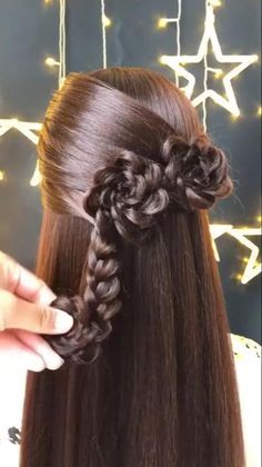 Bun Hairstyles For Long Hair, Everyday Hairstyles, Amazing Hairstyles, Easy Pretty Hairstyles, Pirate Hairstyles, Elvish Hairstyles, Heart Hairstyles, Fairy Hairstyles, Church Hairstyles