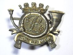 Original Cap Badge: Belgian. Belge in Collectables, Badges/ Patches, Military Badges | eBay