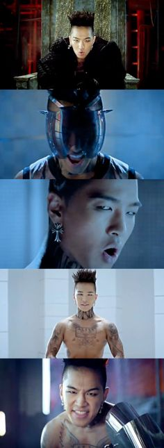 Fantastic Baby: Taeyang, those eyesss <3<3<3<3  He's so manly!