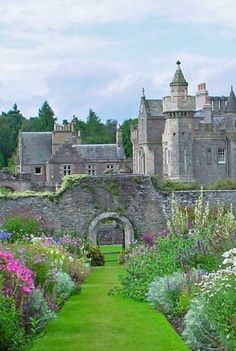 Abbotsford House, Scotland - Historic home of the poet & author, Sir Walter Scott