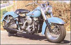 Old school Harley- Panhead