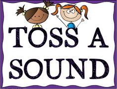 Speech Therapy Fun: Articulation Toss A Sound