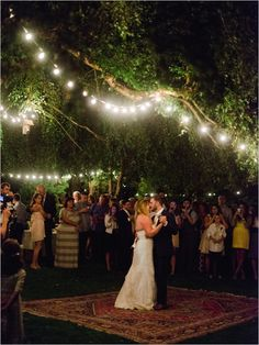 wedding lighting ideas #outdoorwedding #weddinglighting #weddingchicks http://www.weddingchicks.com/2014/02/20/beautiful-oregon-wedding/