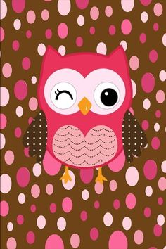 Wallpaper Owl Clip Art, Owl Art, Backgrounds Wallpapers, Cute Wallpapers, Cute Owls Wallpaper, Owl Background, Stitch Games, Owl Pictures, Owl Always Love You
