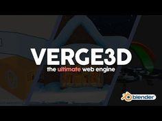 Verge3D: The Ultimate Blender Web Engine - YouTube