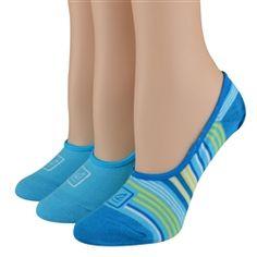 Sperry Top-Sider Women's Socks Multi Stripe Liner Methyl Blue