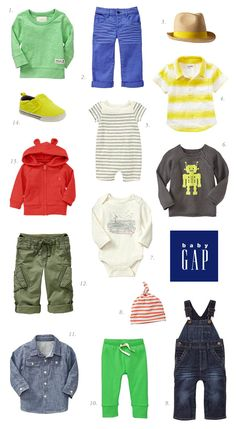Baby boy clothes from Gap | 100 Layer Cakelet @Natalie Jost Welling