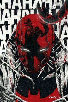 Red Hood by Jimbo Salgado Red Hood Dc, Batman Red Hood, Comic Books Art, Comic Art, Red Hood Wallpaper, Hood Wallpapers, Red Hood Jason Todd, Univers Dc, Hq Marvel