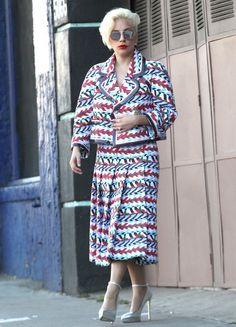 Lady Gaga Wearing a Chanel Suit | November 2015 | POPSUGAR Fashion