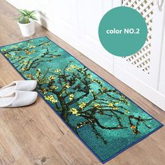 Find More Rug Information about 50cm*150cm Bedside Polyester Abstract oil paintings Carpet Environmental Protection Latex Non slip Living Room Rug  TMJC006,High Quality rug door,China rug discounts Suppliers, Cheap rug red from Household Products wholsale and Retail on Aliexpress.com