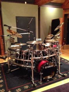 Yamaha's in studio (not mine)