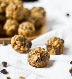 No Bake Granola Bites (From Scratch <3)