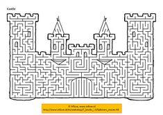 kasteel doolhof voor Hugo & Otis