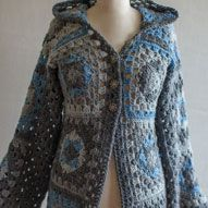 granny square hoodie free pattern