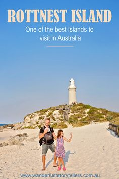 One of the best islands to visit in Australia! Rottnest Island is a gorgeous Island located within easy reaching distance from Perth city in Western Australia. This should be on your list of top things to do in Perth! Click photo to read more . Melbourne, Sydney, Brisbane, Perth Australia, Visit Australia, Australia Travel, Western Australia, Australia Holidays, Australia Visa