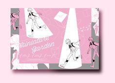 「miniature garden」表紙01-04 デザイン:マツモト 絵:わい(https://www.pixiv.net/member_illust.php?mode=medium&illust_id=68374573)