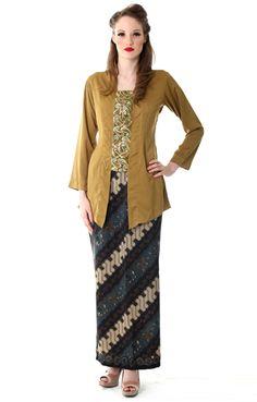Kebaya Dress Modern Paduan Rok Batik