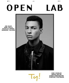 9 TY 1 Ty Ogunkoya & Erik Andersson Cover Open Lab Fall 2013