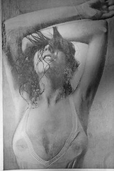 "Paul Cadden ""Closer,"" pencil on paper, size 24 x 33 in"