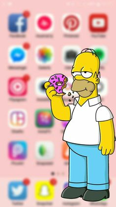 - Best of Wallpapers for Andriod and ios Simpson Wallpaper Iphone, Cartoon Wallpaper Iphone, Disney Phone Wallpaper, Apple Wallpaper, Cute Cartoon Wallpapers, Tumblr Wallpaper, Aesthetic Iphone Wallpaper, Wallpaper Backgrounds, Galaxy Wallpaper