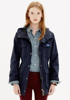 Penfield Parka at Madewell, September 2014.